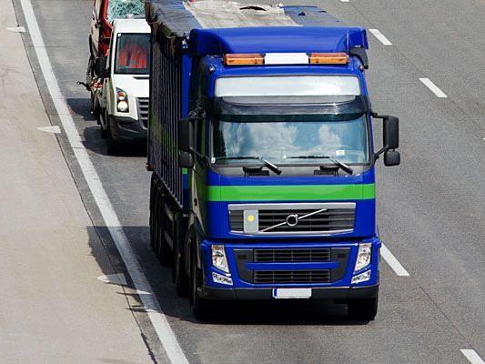 Einem Wiener Lenker wurde in Oberösterreich sein Lkw gestohlen