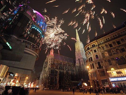 Silvester in Wien: Nicht nur der Silvesterpfad bietet zahlreiche Höhepunkte