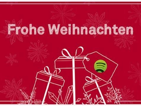 Stille Nacht war gestern: Mit Spotify den persönlichen Weihnachts-Soundtrack an Freunde schicken!