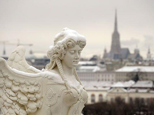 Bis Sonntag könnte es in Wien noch schneien, doch weiße Weihnachten sind äußerst unwahrscheinlich