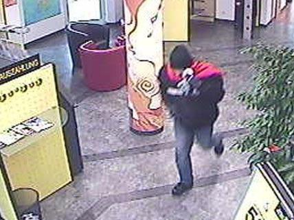 Eine Stunde nach dem Banküberfall wurde der 35-Jährige festgenommen.