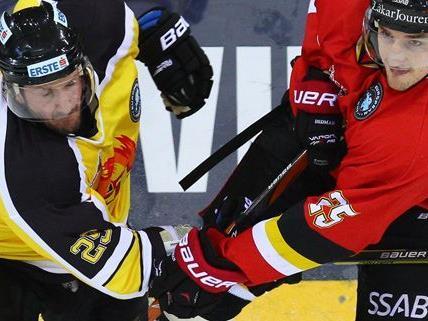 Die Vienna Capitals kassierten eine Niederlage gegen die Schweden.