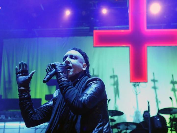 Marilyn Manson lieferte keine seiner besten Shows in Wien am Samstag.