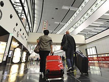 Um 2,1 Prozent ist die Zahl der Passagiere am Wiener Flughafen gestiegen.