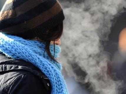 In der kommenden Woche wird es in Wien ziemlich kalt
