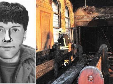 Die Polizei sucht immer noch den Brandstifter, der auf drei Kirchen im Amstetten Brandanschläge verübt haben soll.