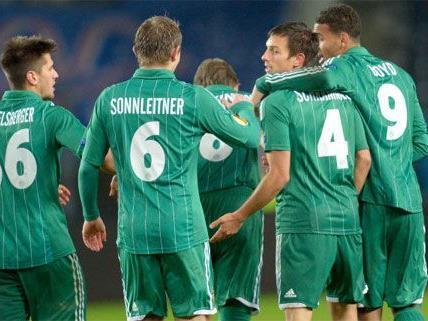 Rapid Wien ist kampfbereit für die Partie gegen den SV Ried.