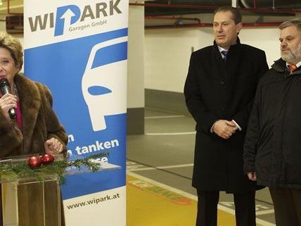 Am Mittwoch wurde die neue Parkgarage im ersten Bezirk eröffnet.