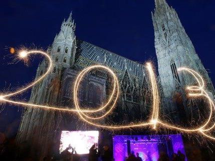 790.000 Besucher gab es am Silvesterpfad in Wien - ohne Zwischenfälle.