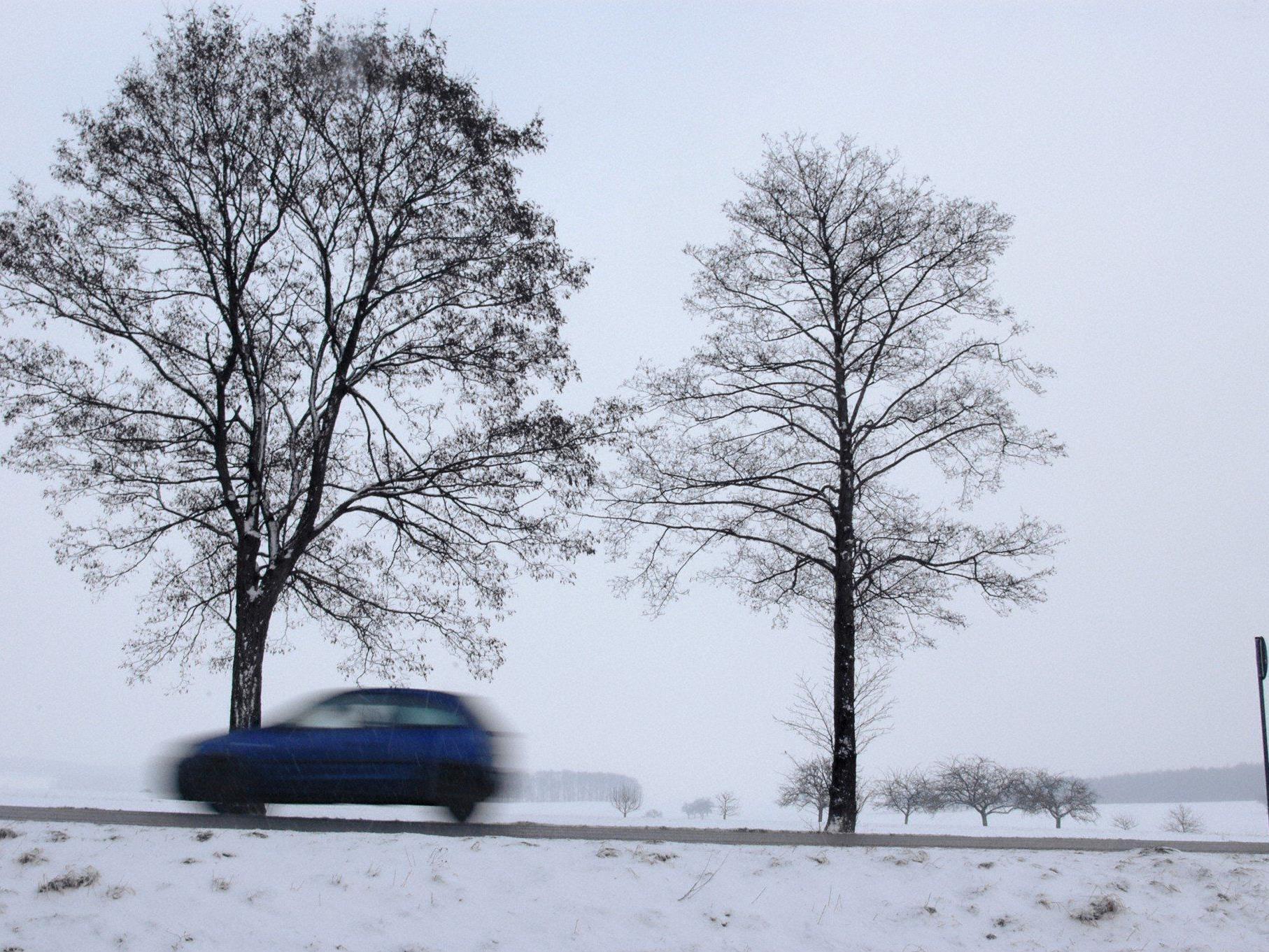Auf der winterlichen Fahrbahn verlor der 19-Jährige die Kontrolle über seinen Pkw.