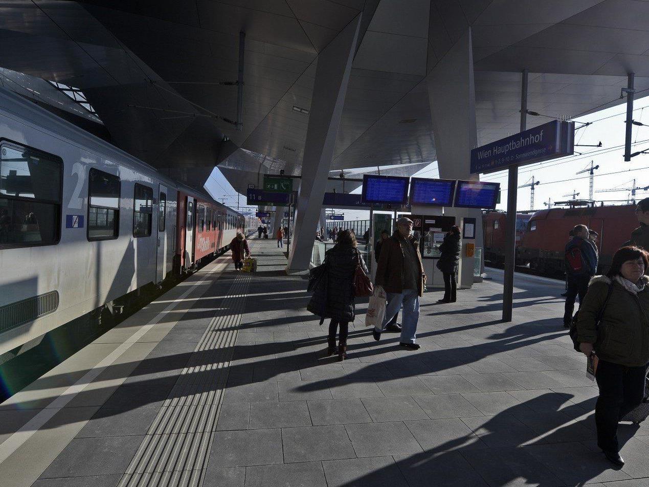 Die Bauarbeiten am Hauptbahnhof Wien gehen nach drei Jahren langsam dem Ende zu