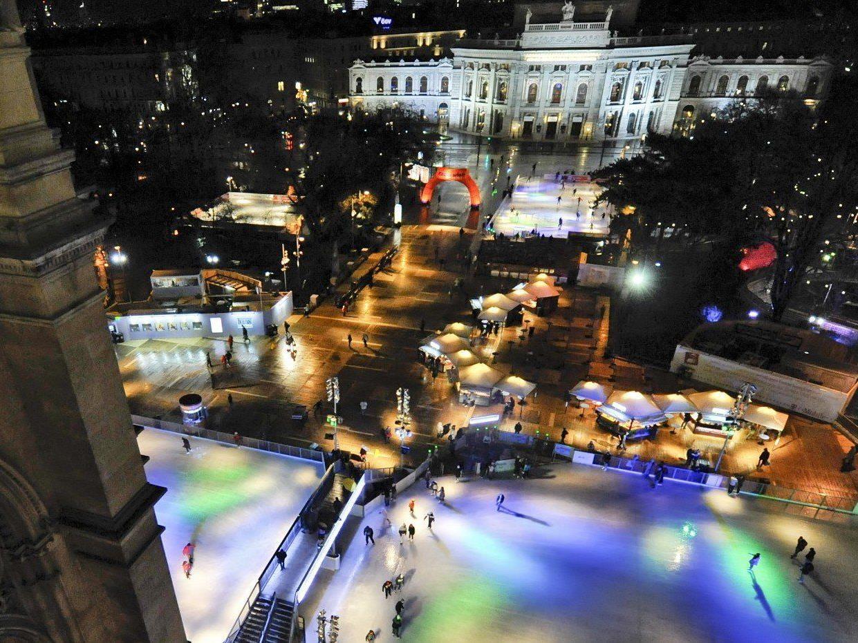 Am 24. Jänner 2013 wird der Wiener Eistraum eröffnet.