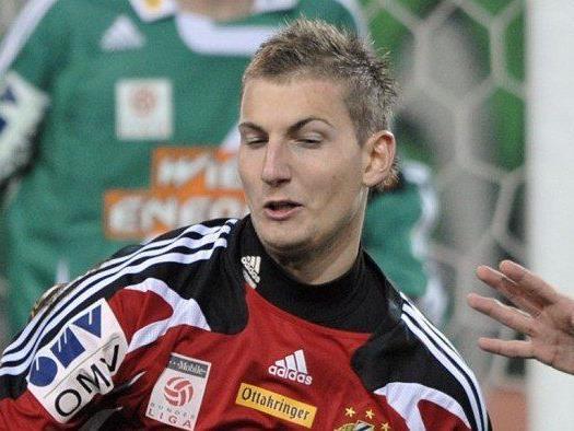 Andreas Lukse wechselt zum SV Kapfenberg.