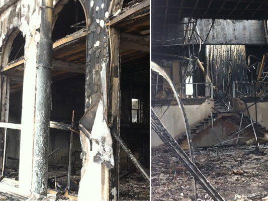 Der Brand im Centaurus hinterließ das Erotik-Lokal in Schutt und Asche