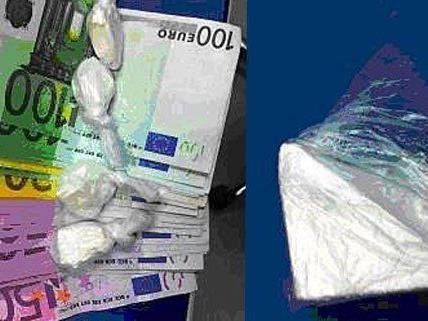 Große Mengen Drogen und Bargeld wurden bei dem Duo in Wien gefunden