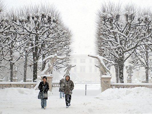 Der Schnee kommt zurück nach Wien