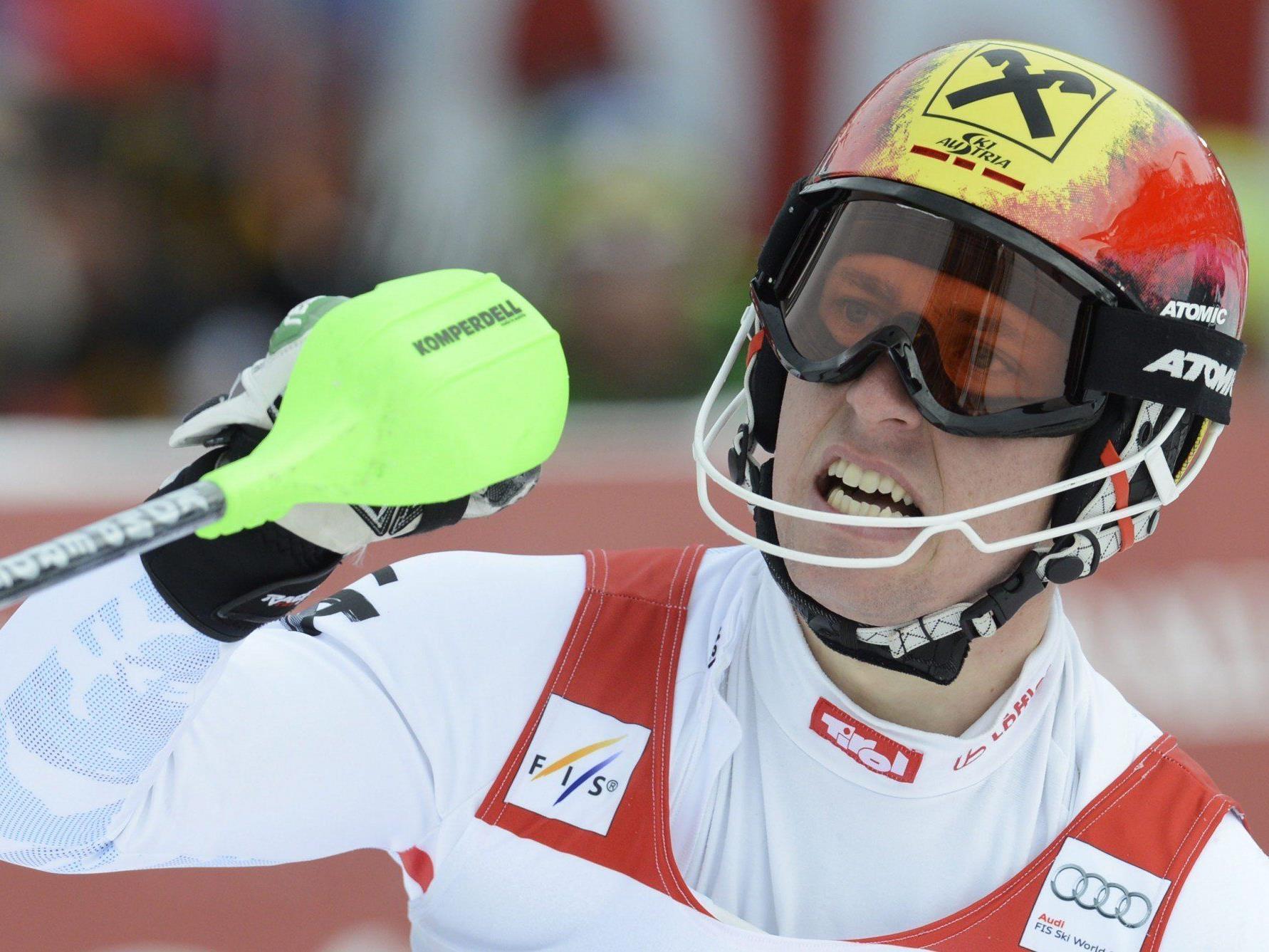 Marcel Hirscher ist Österreichs größte Hoffnung auf WM-Gold in Schladming.