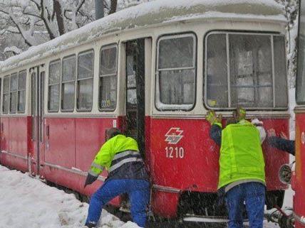 Leserreporter Straßenbahn Der Linie 49 Bei Umkehrstelle Hütteldorf
