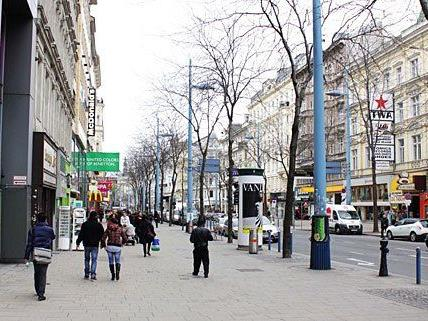 Mariahilfer Straße: Nur Anwohner der Querungsstraßen werden befragt