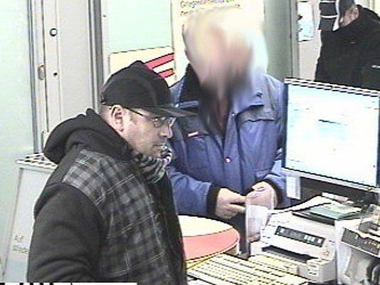 Einer der Täter beim Banküberfall in Ottakring