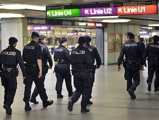 U-Bahn-Kriminalität: Die Wiener Polizei ist an den Hot Spots präsent