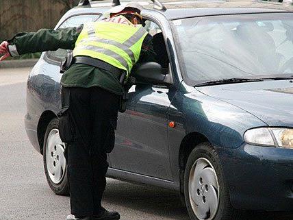 Die Polizei kontrollierte einen Wiener im Burgenland - mit überraschendem Ergebnis