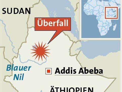 Die Behörden in Äthiopien haben Mordermittlungen eingeleitet. Die drei Österreicher, die den Überfall überlebt haben, seien von der Polizei über den Tathergang befragt worden, sagte Weiss.
