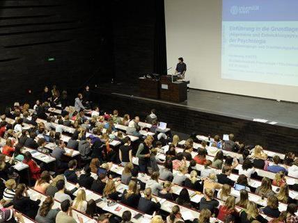 Das Studienjahr 2011/12 brachte Uni Wien ein Rekordergebnis.