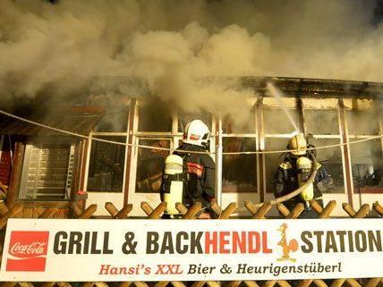 Zum Großbrand im Wiener Prater werden nun Untersuchungen aufgenommen.
