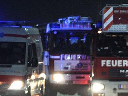 Häuserbrand in Purkersdorf in Wien-Umgebung.