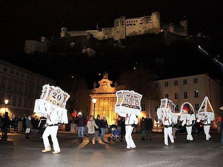 Der Glöcklerlauf findet traditionell am 5. Jänner statt.