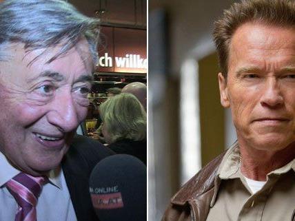Richard Lugner zeigte sich von Arnold Schwarzeneggers neuem Film begeistert.