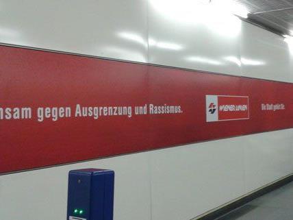 Die Wiener Linien haben eine neue Kampagne gegen Rassismus und Ausgrenzung gestartet.