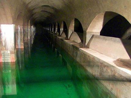 Über Wasser wird derzeit heiß diskutiert- im Bild: der Wasserbehälter Rosenhügel in Wien.