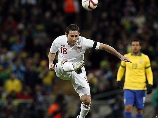 Lampard traf gegen Selecao