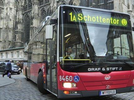 In der Habsburggasse ist nicht genug Platz für einen Radweg und die Buslinie.