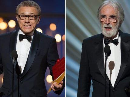 Österreich freut sich für die zwei Oscar Gewinner Christoph Waltz und Michael Haneke