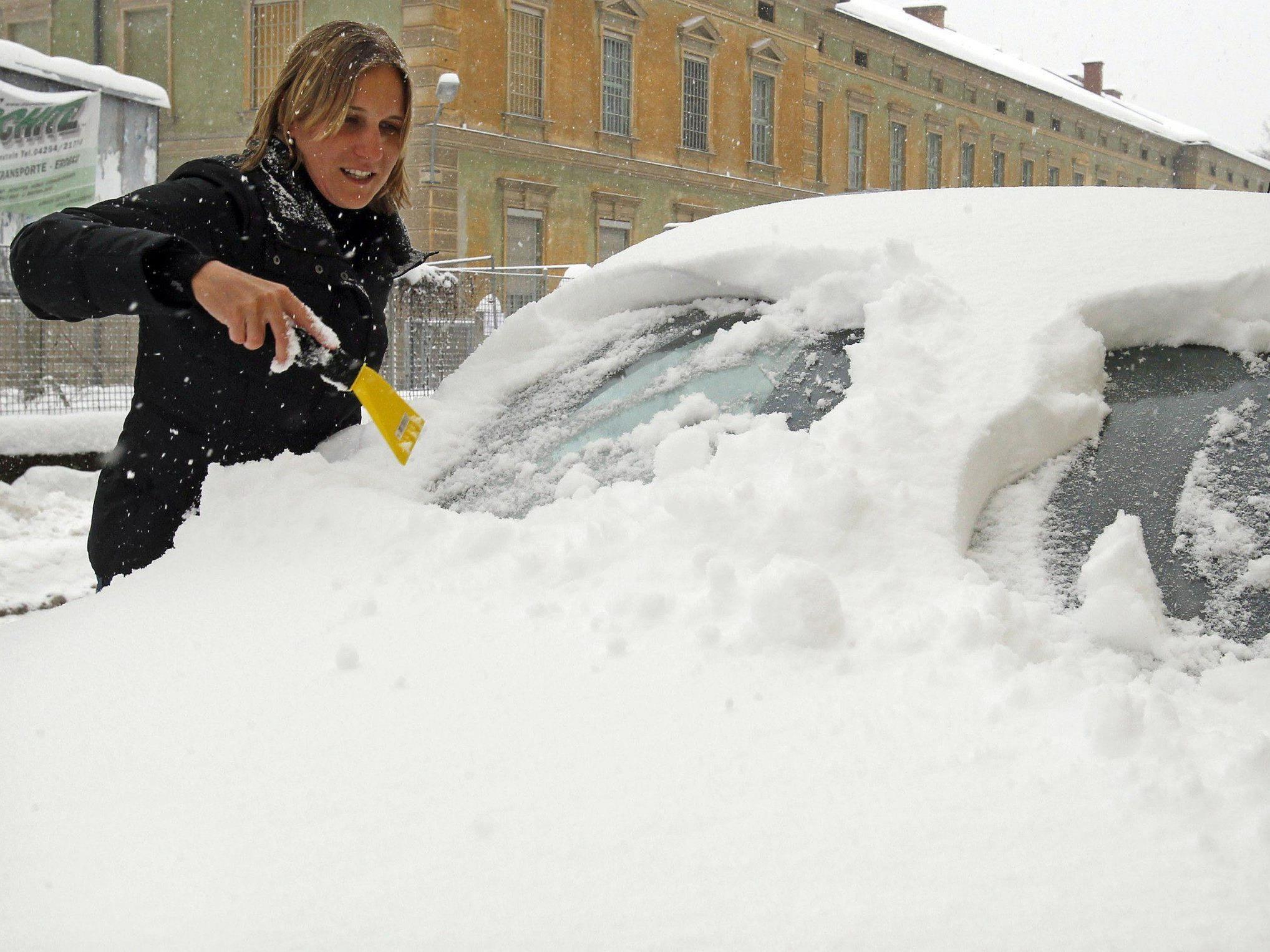 Nicht nur außen, auch innen kann sich bei frostigen Temperaturen schnell Eis bilden.