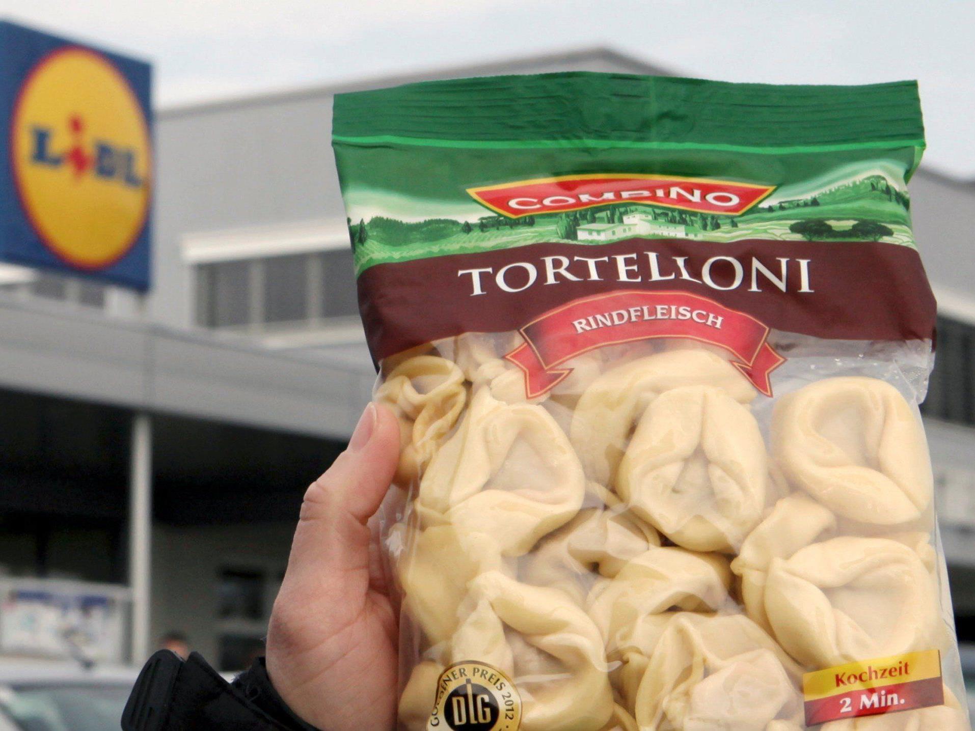 """""""Tortelloni Rindfleisch"""": Produkt wird in Liechtenstein gefertigt."""