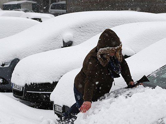 Der Schnee tut der Kurzparkzonen-Regelung in Wien keinen Abbruch