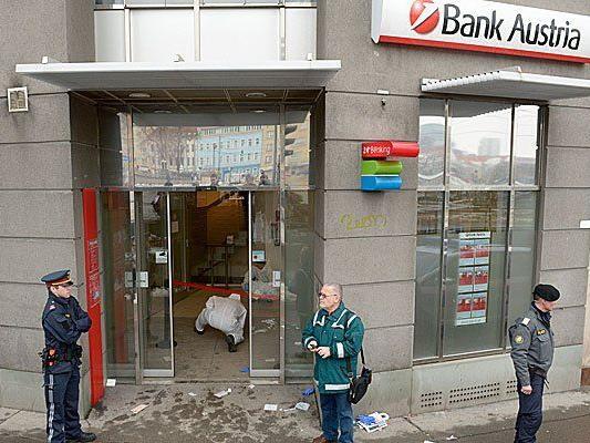 Diese Bankfiliale wurde am Mittwoch überfallen