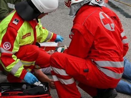 Wien-Favoriten: Verkehrsunfall mit fünf Pkws und vier verletzten Personen