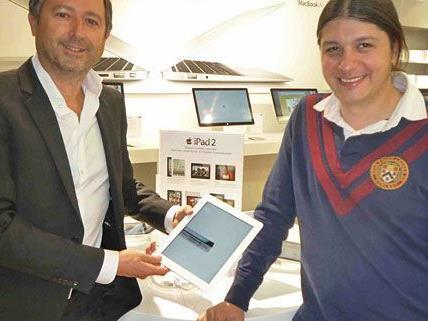 Die Geschäftsführenden Gesellschaft der McShark-Epos Group: Emilio Bietti und K. Flo Schneider - © McShark-Epos Group