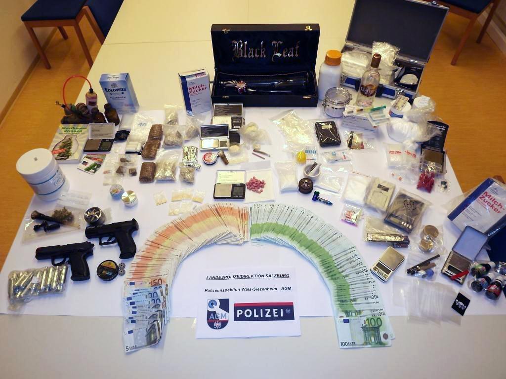 Nachdem im Jänner in Salzburg ein Drogenring aufgeflogen ist, konnte die Polizei nun weitere Verdächtige ausforschen.