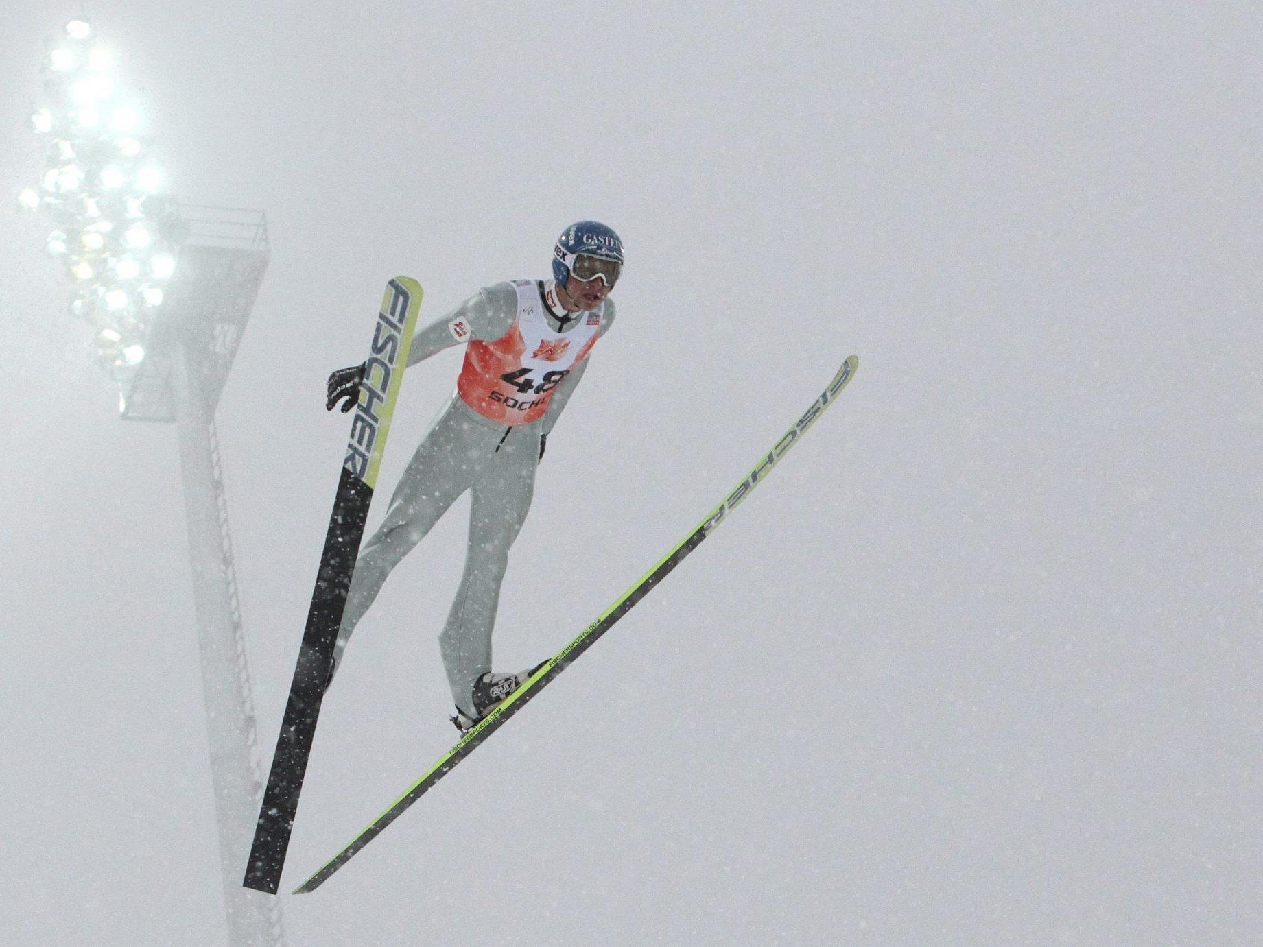 Gruber gewann Olympiageneralprobe in Sotschi, Denifl 3.