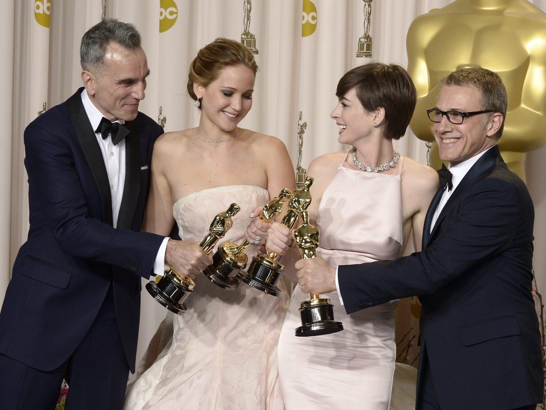Christoph Waltz ist mit seinem zweiten Oscar in Hollywood angekommen