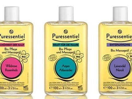 Diese 3 Puressentiel BIO Pflege- und Massage-Öle gibt es zu gewinnen