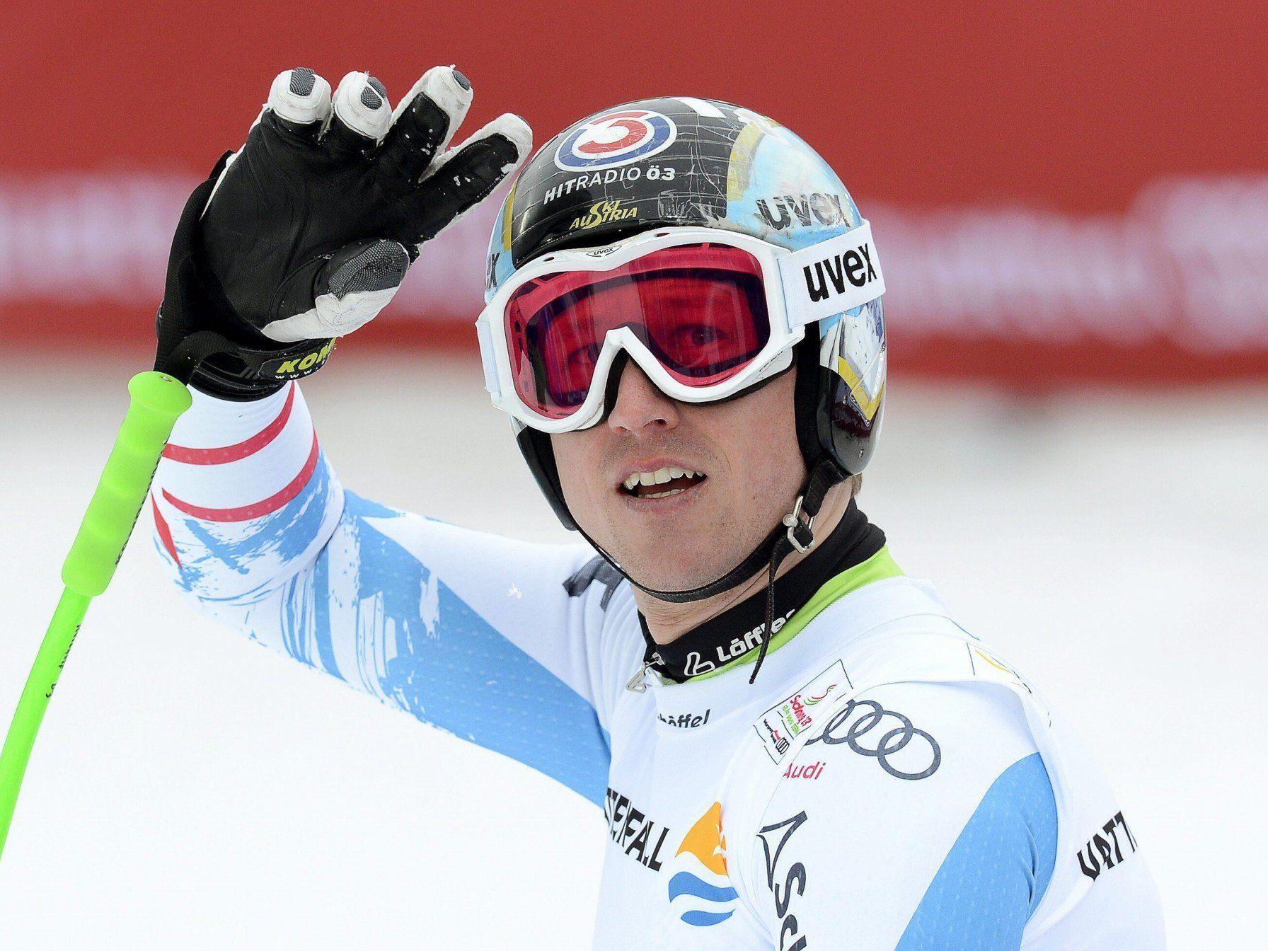 Knapp an einer Super-G-Medaille vorbei: Hannes Reichelt auf Platz vier.