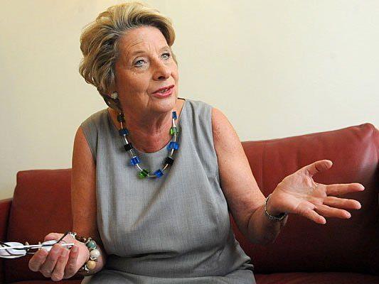 Ursula Stenzel will ein Alkohol-Verbot in der Innenstadt erreichen