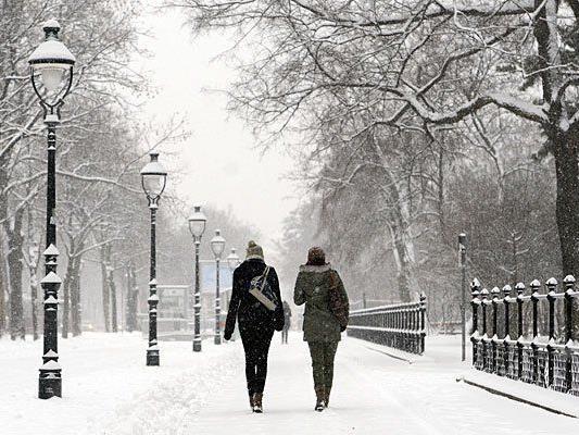 Schnee und Kälte bleiben uns in der kommenden Woche erhalten